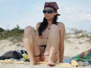 Voyeur Porno und Sex am Strand