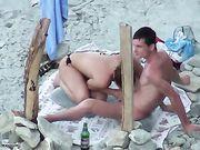 Ein Blowjob am Strand